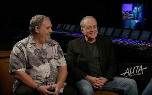 CS Video: Jon Landau & Joe Letteri on Alita: Battle Angel