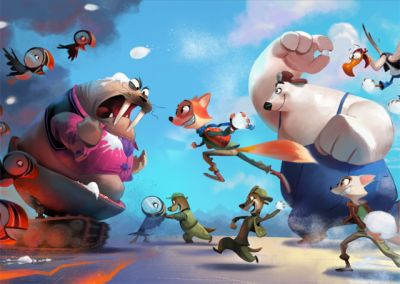 Open Road Films Acquires Animated Arctic Justice: Thunder Squad