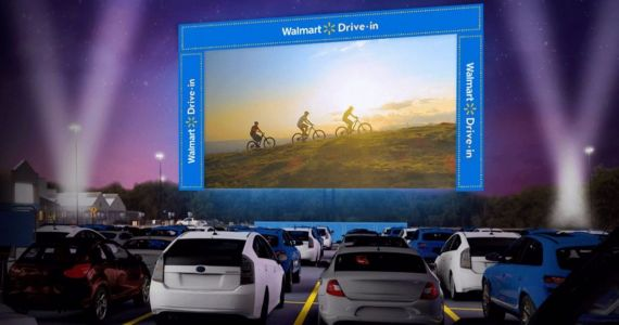 Walmart Is Bringing Classic Blockbusters to Free Pop-Up Drive-Ins This Summer