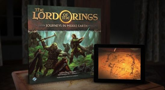 New App-Supported 'Lord of the Rings' Board Game Takes Us Back to Middle-Earth