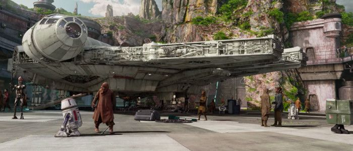 POTD: The Millennium Falcon Has Been Completed at 'Star Wars: Galaxy's Edge'