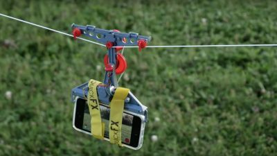 How to Build a DIY Cable Cam Out of a $10 Toy