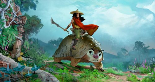 Disney Animation Announces Raya and the Last Dragon at D23Disney