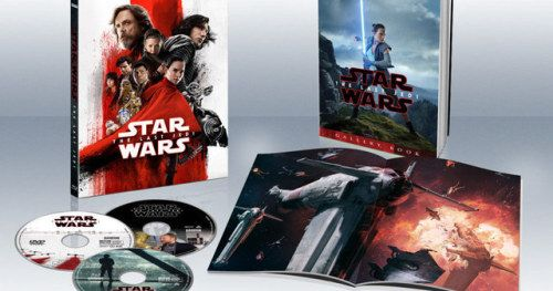 The Last Jedi Blu-ray & DVD Release Date, Full Details