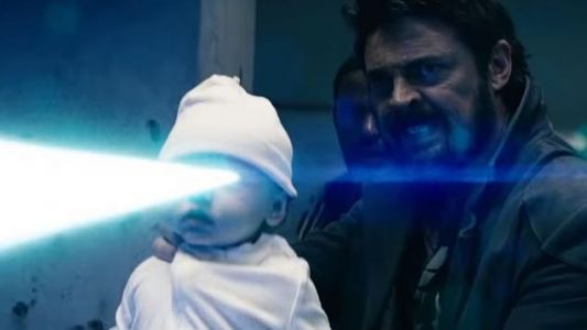 New Trailer For THE BOYS Features Karl Urban Shooting A Baby With Laser Eyes