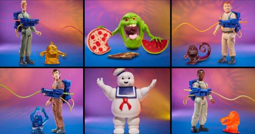 The Real Ghostbusters Retro-Style Action Figures Are Coming to