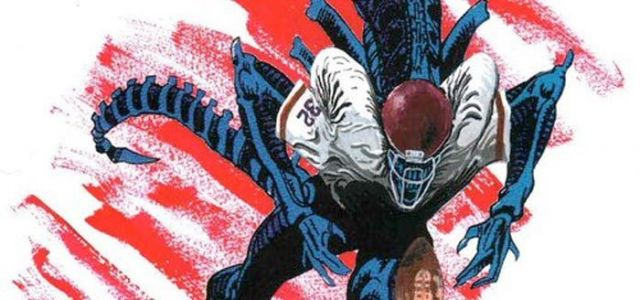 WTF: An 'Alien vs Predator' Football Video Game Was Once in Development for SEGA Genesis