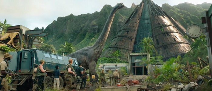 Daily Podcast: Let's Talk Jurassic World: Fallen Kingdom With Producers Frank Marshall and Pat Crowley