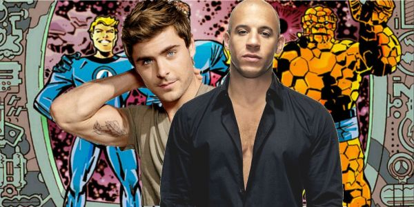 Fantastic 4: Vin Diesel is the Thing to Zac Efron's Human Torch in MCU Fan Trailer