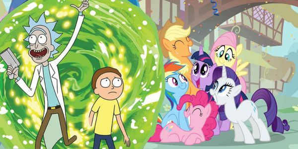 Rick and Morty Cameo In My Little Pony
