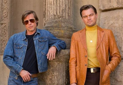 First Look at Leo and Brad in Once Upon a Time in Hollywood