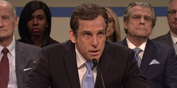SNL: Ben Stiller's Michael Cohen Gets Grilled by Bill Hader's Jim Jordan