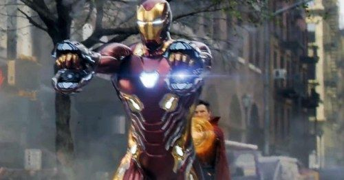 Avengers 4 Photo Shows Off Iron Man's Proton
