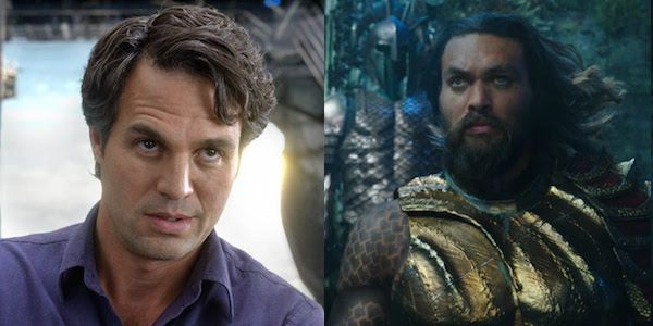 Mark Ruffalo Went To New York Comic Con In Disguise To Take Pictures With Jason Momoa