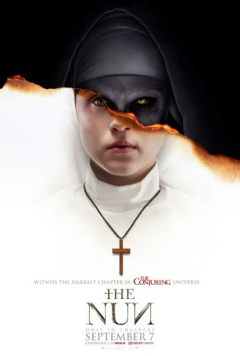 The Nun Poster - Are you ready to witness the darkest chapter in the Conjuring universe?