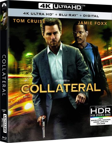Michael Mann's COLLATERAL Starring Tom Cruise & Jamie Foxx Will Make Its 4K Ultra HD Debut This December