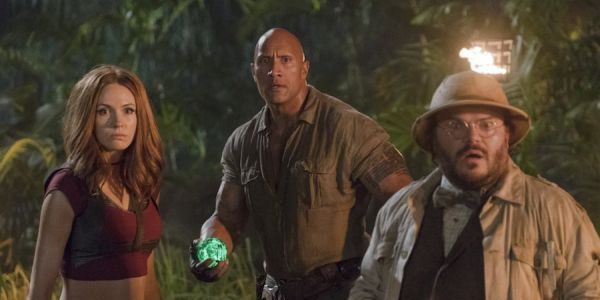 The Rock And Karen Gillan Are Rocking Awesome New Costumes In Jumanji 3 Image