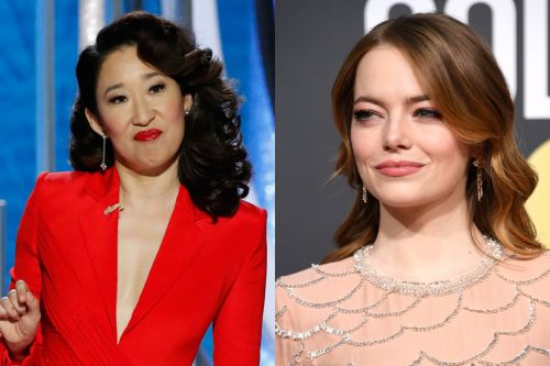 """Did Emma Stone Yell """"I'm Sorry"""" About 'Aloha' At The Golden Globes?"""