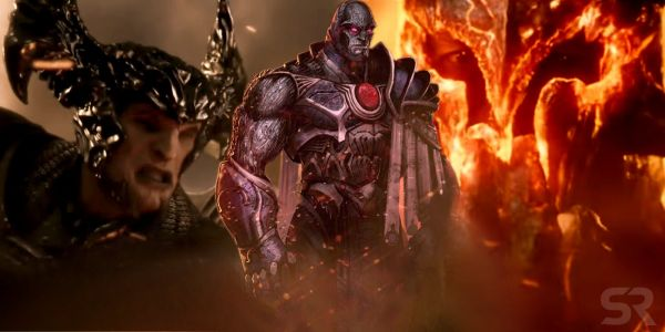 Justice League: Zack Snyder's Invasion Flashback Had Darkseid vs Ares