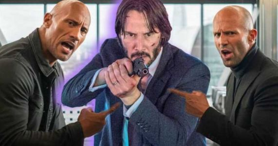 Is Keanu Reeves Really in Hobbs & Shaw? The Rock Weighs In