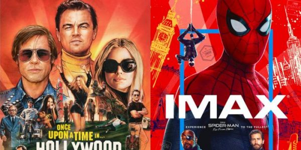 'Once Upon a Time in Hollywood' Gets a Great Poster While 'Spider-Man: Far From Home' Gets an Awful One
