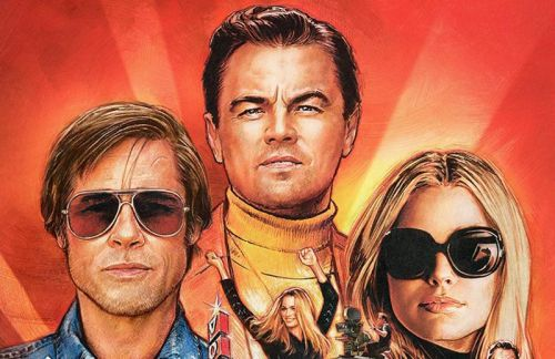 Once Upon a Time in Hollywood Poster Goes Full Retro