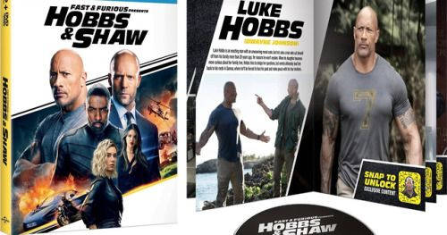 Hobbs & Shaw Comes to Blu-Ray in October with Alternate
