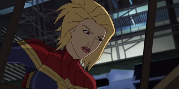 Captain Marvel Trailer Gets a Cool Animated Makeover