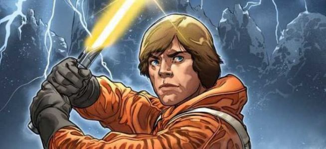 New 'Star Wars' Comic Reveals Luke Skywalker Had a Secret Yellow Lightsaber