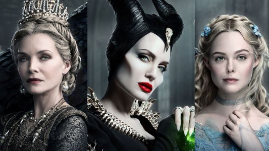 Maleficent: Mistress of Evil Triptych Poster Features All 3 Leads