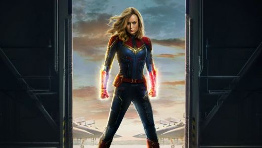 Get a Closer Look at Captain Marvel's Suit in New Behind-the-Scenes Video