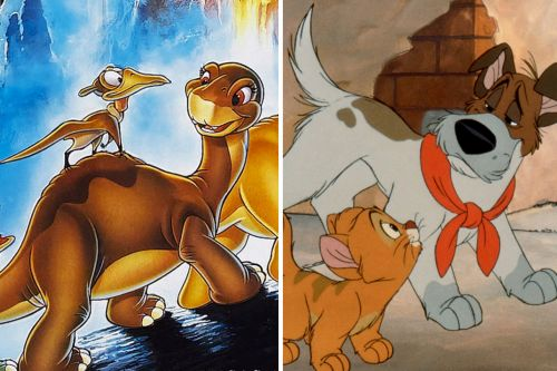 'Land Before Time' and 'Oliver & Company' Battled at the Box Office 30 Years Ago-and Disney Lost