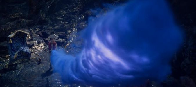 'Aladdin' TV Spot Finally Reveals Will Smith as the Big Blue Genie