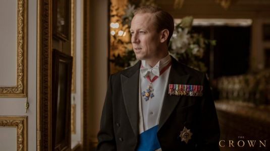 First Look at Tobias Menzies as Prince Philip in The Crown