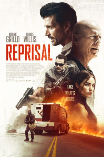 Reprisal Movie starring Frank Grillo, Bruce Willis, Olivia Culpo, and Johnathon Schaech