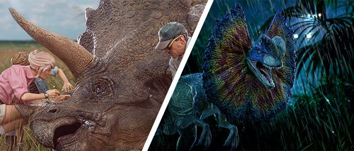 Cool Stuff: New Iron Studios 'Jurassic Park' Statues Include the Triceratops and Dilophosaurus