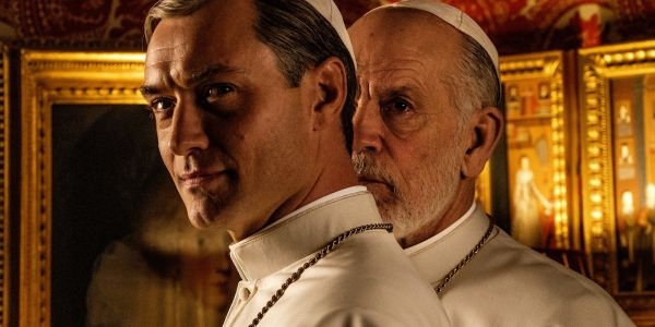 HBO's The New Pope First Look Reveals Jude Law & John Malkovich