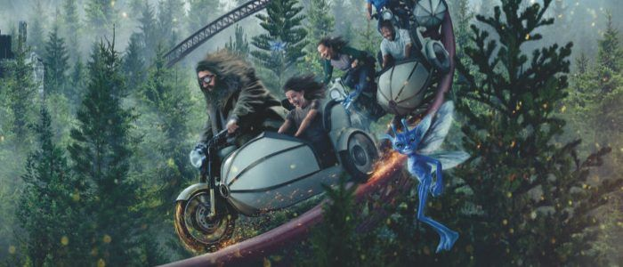 Hagrid Gets His Motor Running in First Look at Universal's New 'Harry Potter' Theme Park Ride