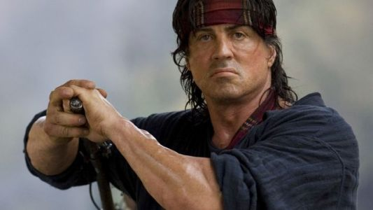 Sly Stallone's Still Doing That RAMBO VS. MONSTER Movie