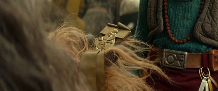 What is this golden belt that is given to Chewbacca?
