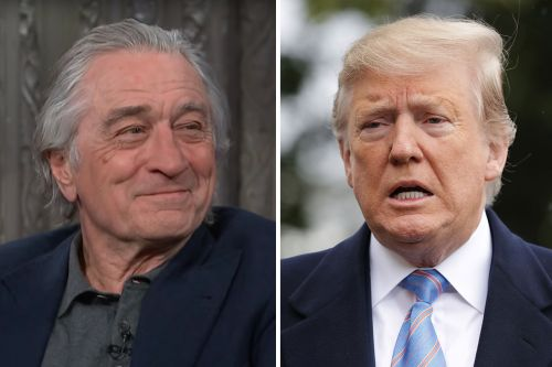 "Robert De Niro Fantasizes About Taking ""Total Loser"" Donald Trump ""Away in an Orange Jumpsuit"""