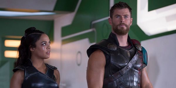 Tessa Thompson and Chris Hemsworth Filmed Kissing Scenes For Thor: Ragnarok