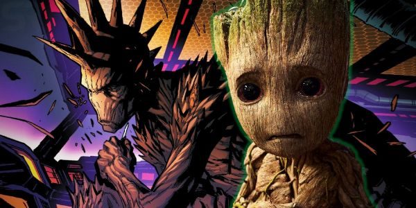 Groot Goes PUNK in The Guardians of the Galaxy Reboot
