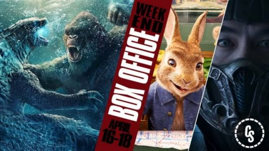 Domestic Box Office Update | Godzilla vs. Kong Remains King
