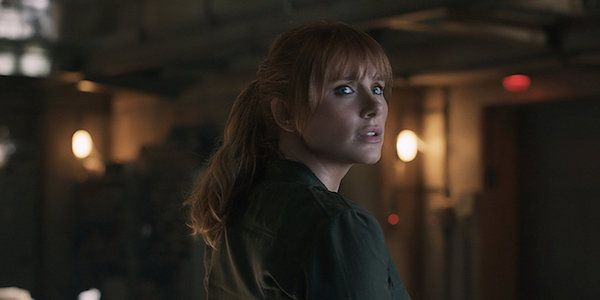 The Jurassic World: Fallen Kingdom Stunt That Caused Bryce Dallas Howard To Pass Out