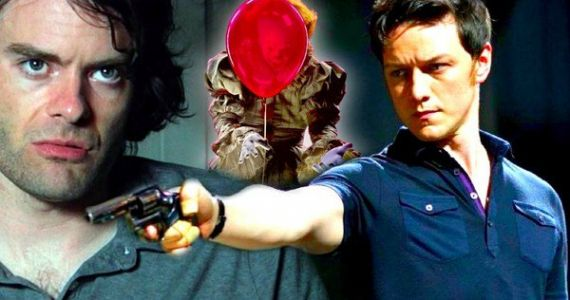 IT 2 Targets Bill Hader and James McAvoy for Adult Losers Club