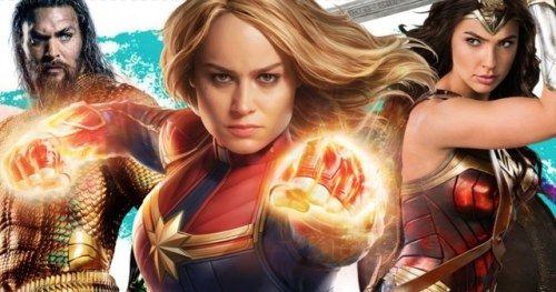 Captain Marvel Pre-Sales Soar High Above Aquaman & Wonder