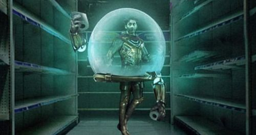 Jake Gyllenhaal Loves BossLogic's Marvel Bubble Boy 2