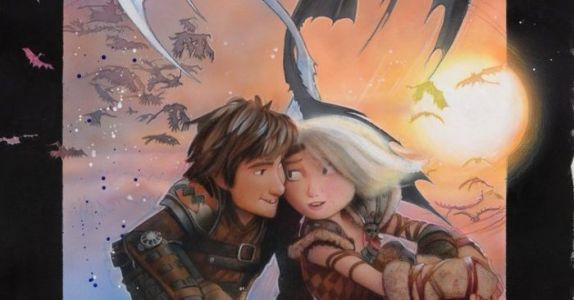 'How to Train Your Dragon: The Hidden World' Brings Poster Legend Drew Struzan Out of Retirement