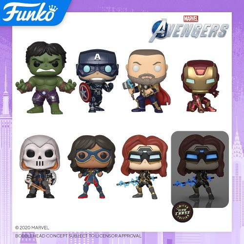 Funko's New York Toy Fair Reveals Include WONDER WOMAN 1984, AVENGERS Video Game, Marvel Zombies, & More